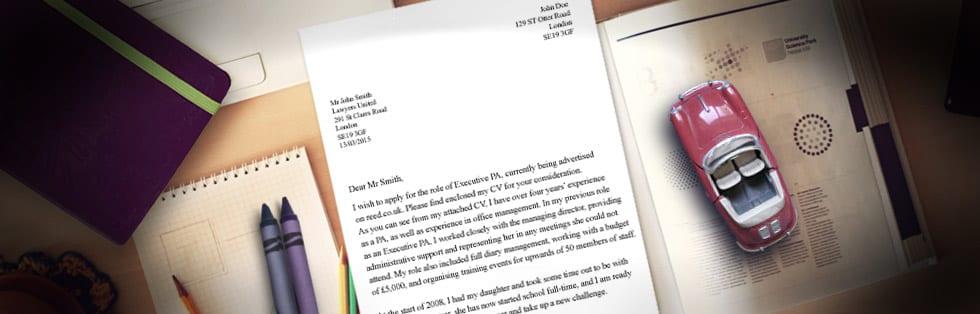Η αξία της συνοδευτικής επιστολής !