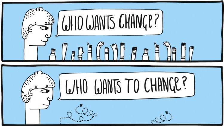4 συναισθήματα που εναντιώνονται στην προσπάθεια για αλλαγή